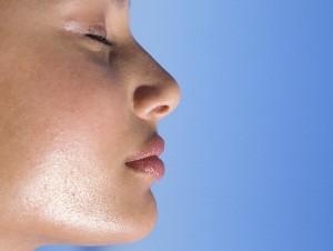 лицо с жирной кожей