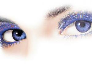 контактные линзы с цветом