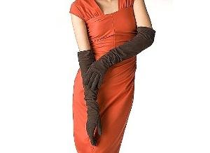 перчатки длинные