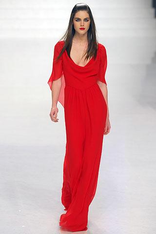 Платье Валентино красного цвета