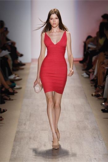 Макс Азрия платье-бандаж